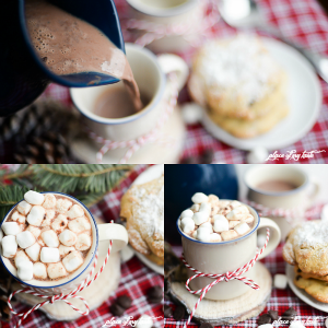 Hot Chocolate Recipe - Homemade Hot Chocolate is seriously the best! This easy recipe will for sure become a favorite hot drink during Christmas and those cold winter days. PIN IT NOW and drink it later!