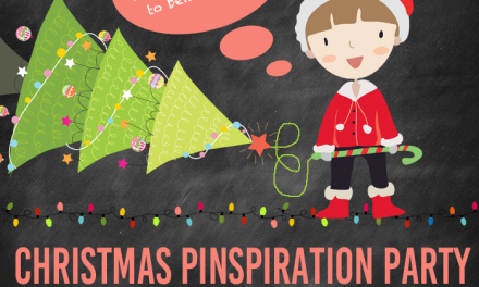 Christmas Pinspiration Party on Pinterest