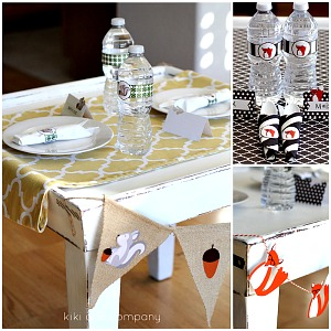 Thanksgiving Kid Table Decor Printables