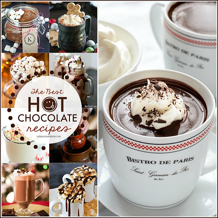 The Best Hot Chocolate Recipes FB the36thavenue.com