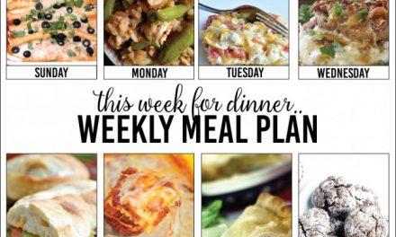Weekly Meal Plan – Week Four