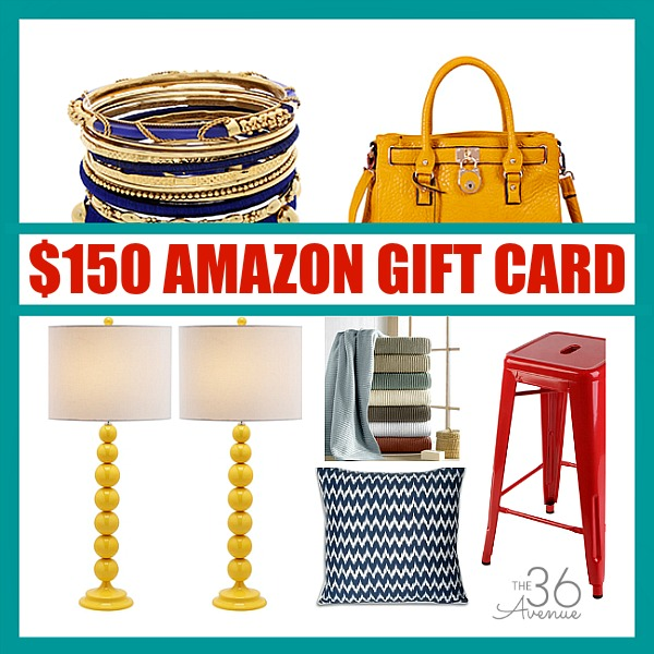 CLICK HERE: https://www.the36thavenue.com/150-traget-gift-card-giveaway/  and enter to win a $150 Target Gift Card!