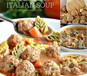 Meatballs Italian Soup Recipe