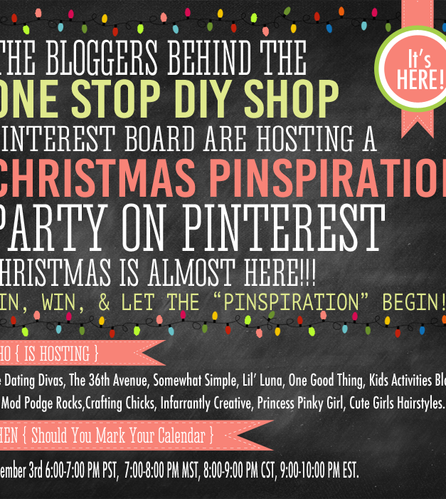 Pinspirational Party on Pinterest Today