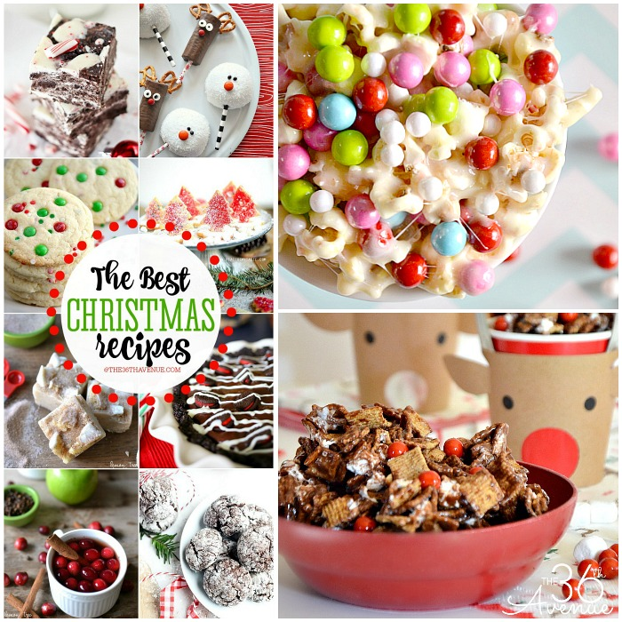 Christmas Recipes - These dessert recipes are perfect for everyday snacks, to give as Christmas Edible Gifts, or to make anytime that your are craving something sweet and delicious! Surprise your family and friends with any of these yummy Christmas Treats! PIN IT NOW and make them later!