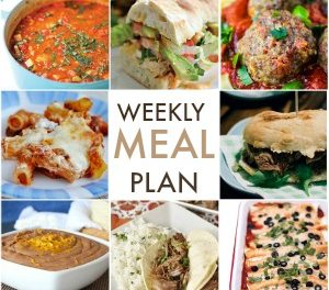 Weekly Meal Plan – Week 5