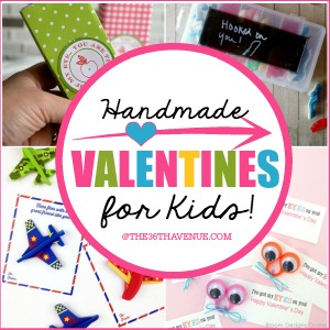 Handmade Valentines for Kids