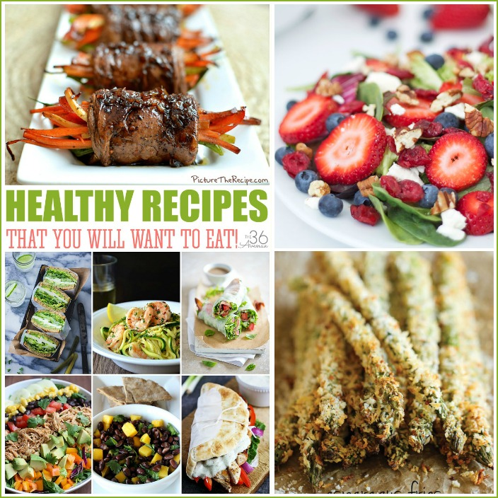 Healthy Recipes FB the36thavenue.com