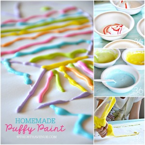 Kids Activity – DIY Puffy Paint