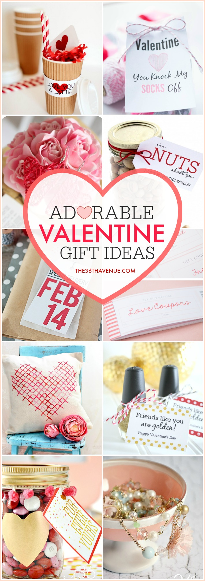 Valentine Gift Ideas at the36thavenue.com