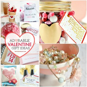 Adorable Valentine Gift Ideas