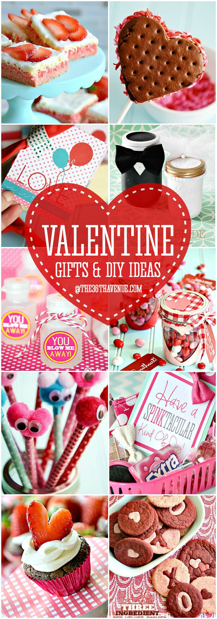 Valentine Gifts and DIY Ideas at the36thavenue.com