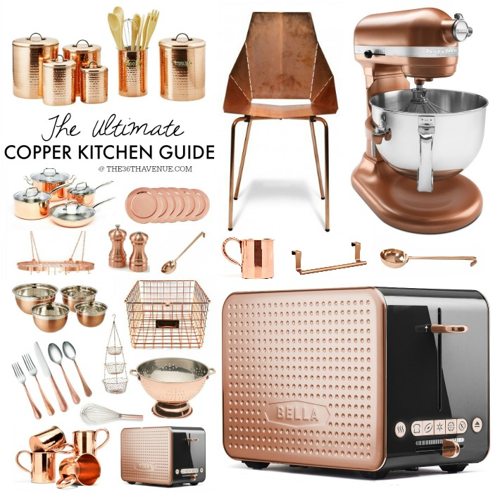 Copper Decor Ideas the36thavenue.com