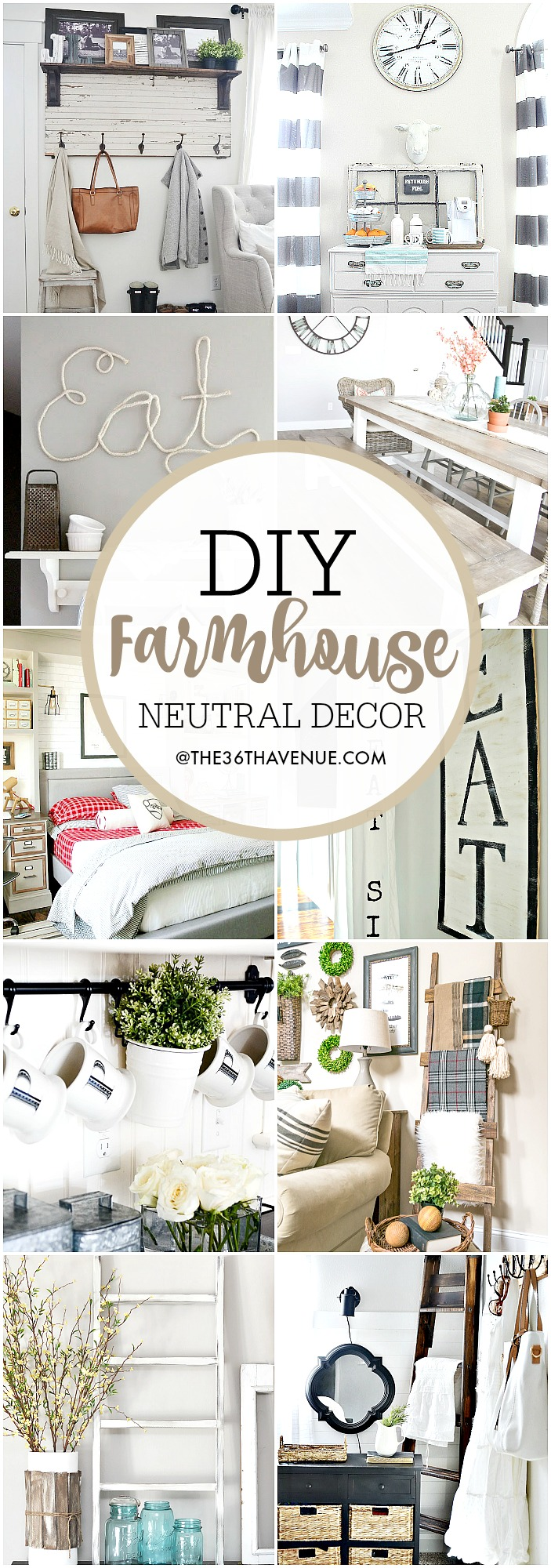 Farmhouse DIY Decor Ideas