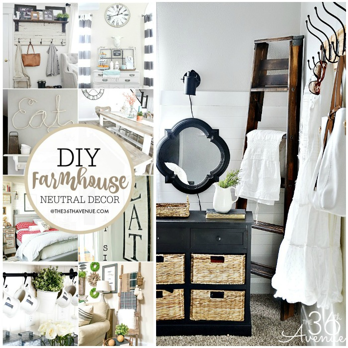 31 Rustic Diy Home Decor Projects: Farmhouse DIY Home Decor Ideas