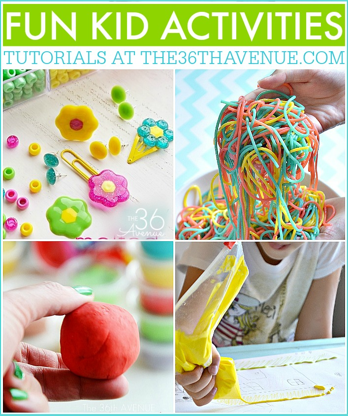 Kid Activities and Crafts - These craft ideas and DIY Activities are so much fun and kids of all ages will love making and playing with them for hours.