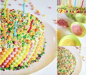 Cake Recipe – Funfetti Candy Cake