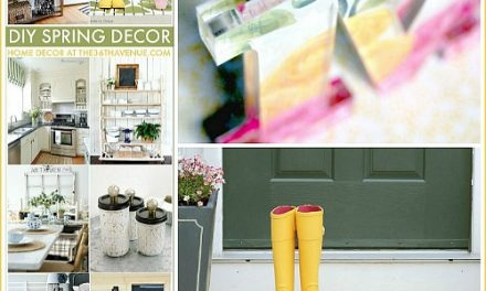 DIY Home Decor Ideas – Spring Decor