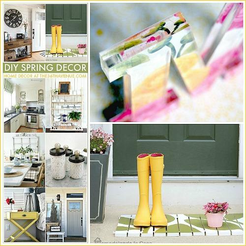 DIY Home Decor Ideas – Spring Decor