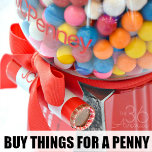 How to Buy Things for a Penny