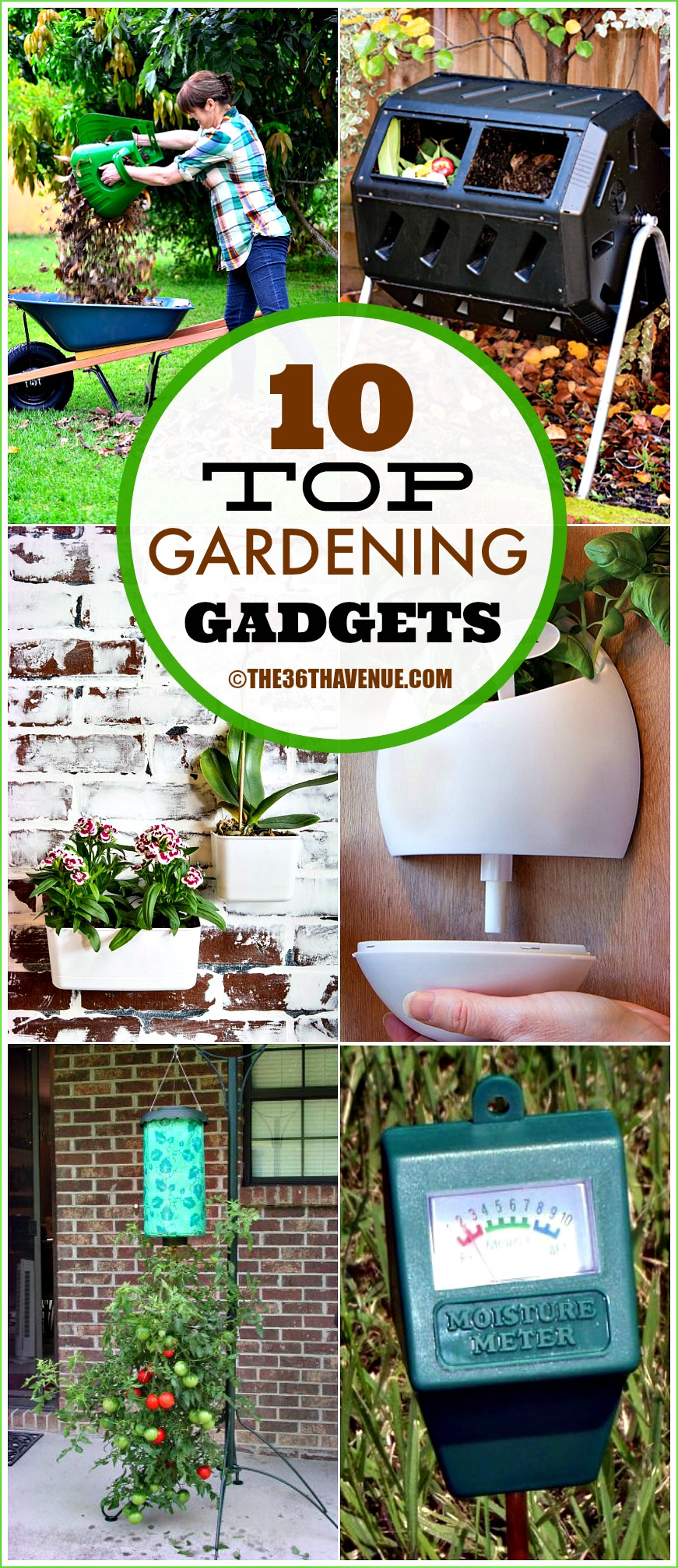 Top 10 Gardening Gadgets the36thavenue.com