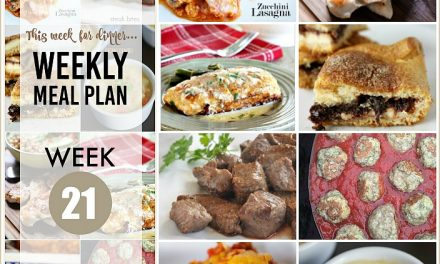 Weekly Meal Plan – Week 21