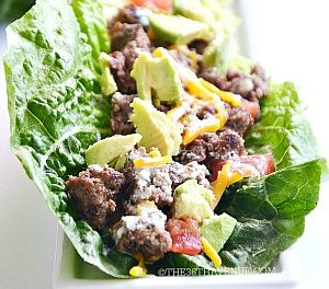 Cheeseburger Lettuce Wrap