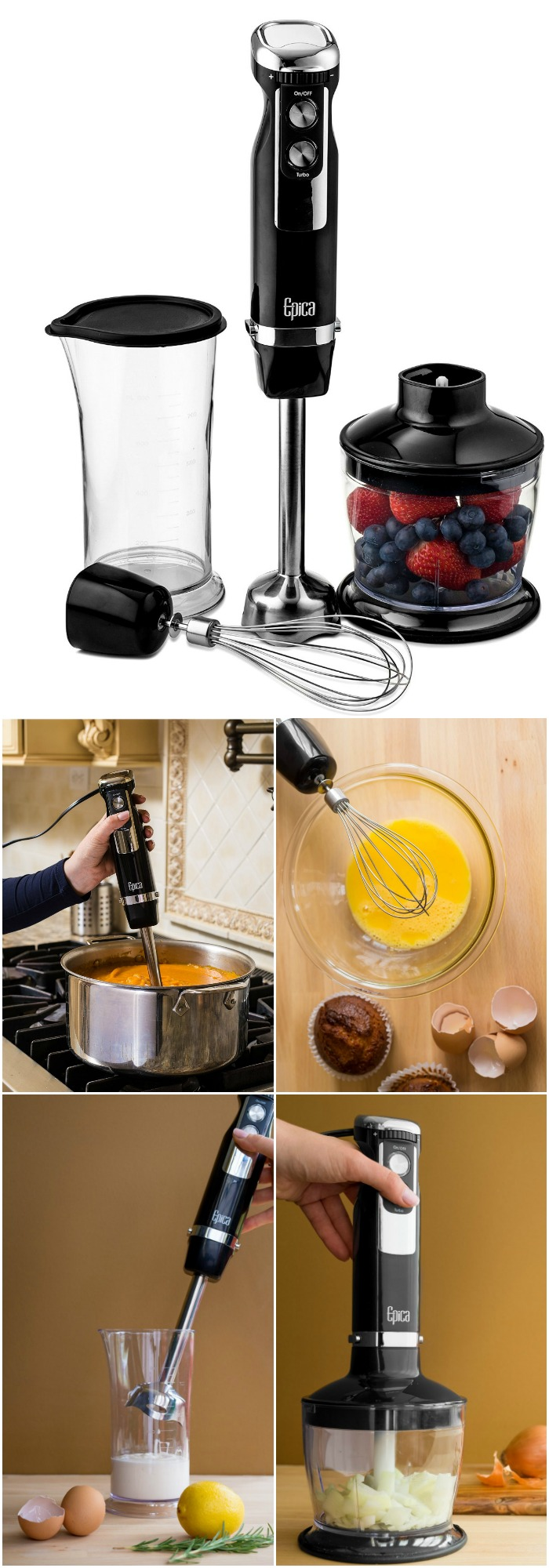 Home Gadgets - If you don't have a hand blender it's time to get one. Best thing ever!