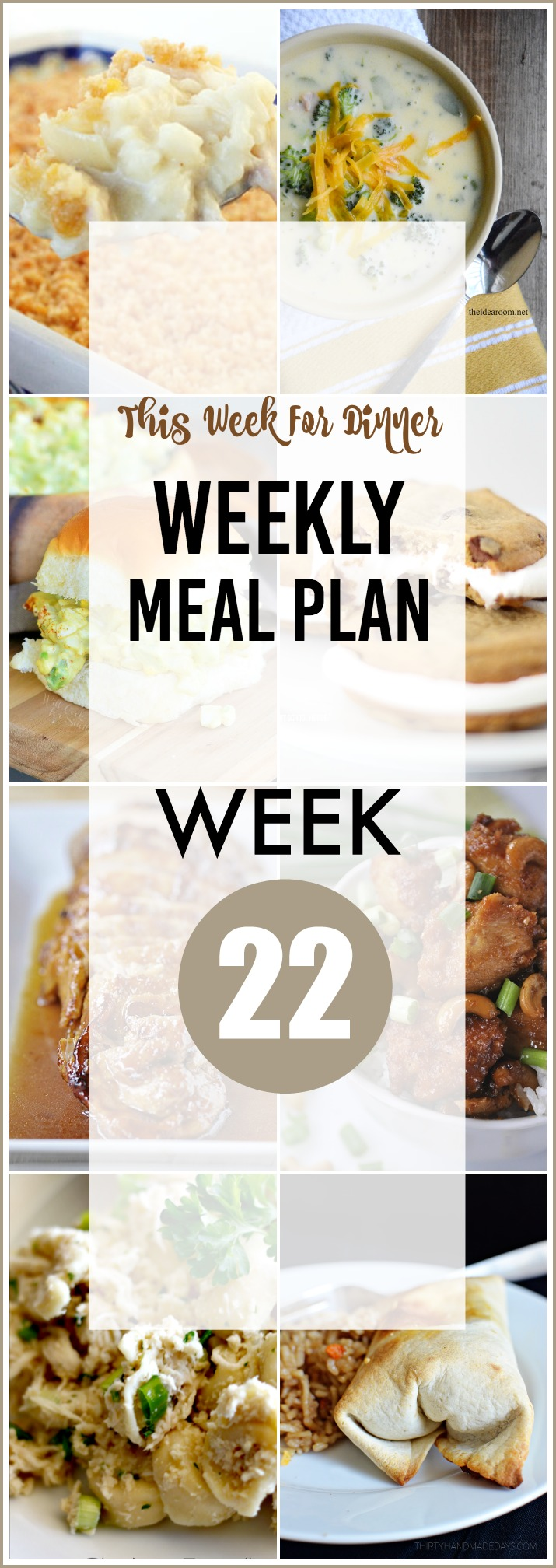 Weekly Meal Plan - Delicious and easy recipes for the entire week.