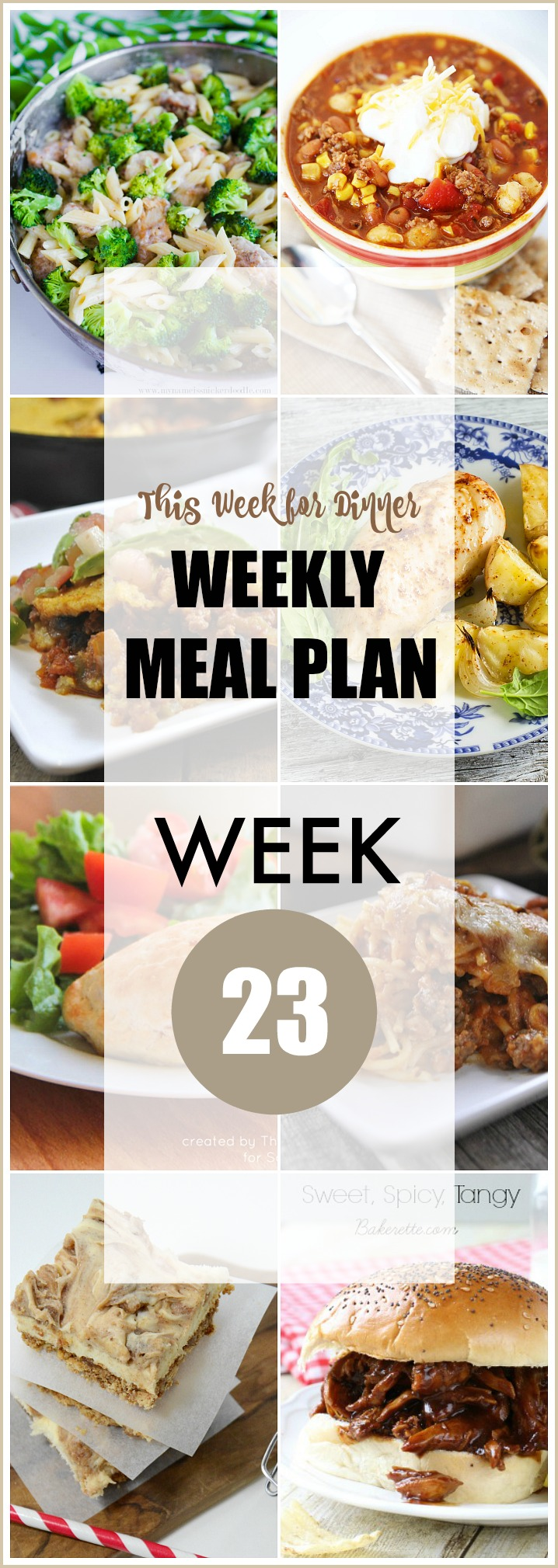 weekly Meal Plan 23