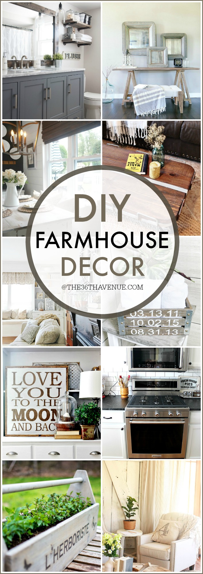 FARMHOUSE DECOR THE36THAVENUE.COM