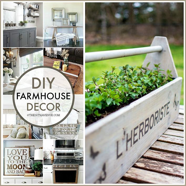 Farmhouse Decor Ideas that YOU can make!
