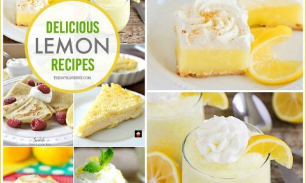 Lemon Recipes – Easy Desserts