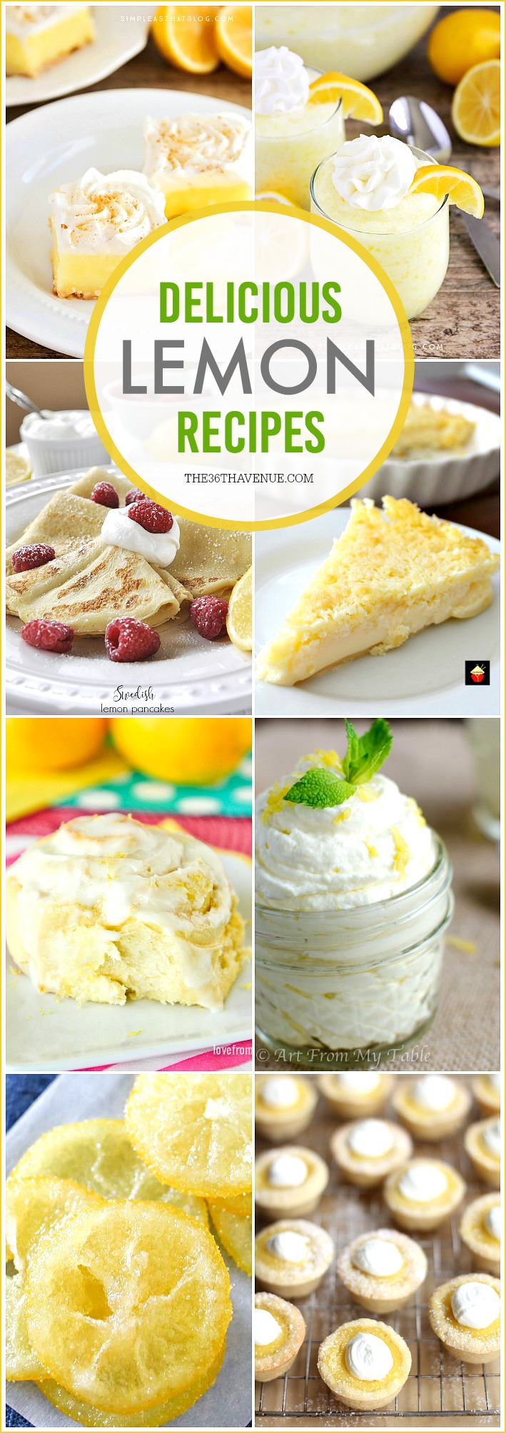 Lemon Recipes the36thavenue.com