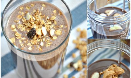 Chocolate PB Banana Smoothie and Popsicles
