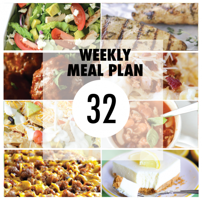 Weekly Meal Plan - Delicious Recipes!