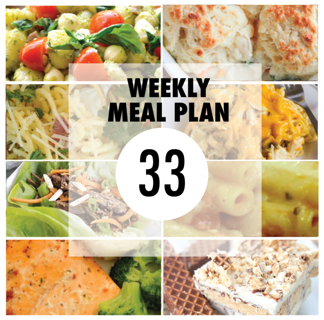 Weekly Meal Plan - Delicious recipes.