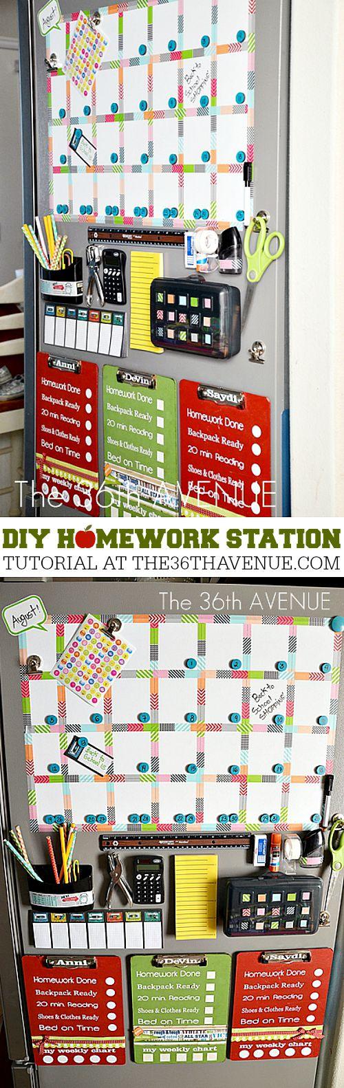 DIY-Homework-Station-at-the36thavenue.com-