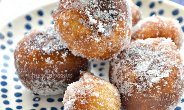 Stuffed Doughnut Bites