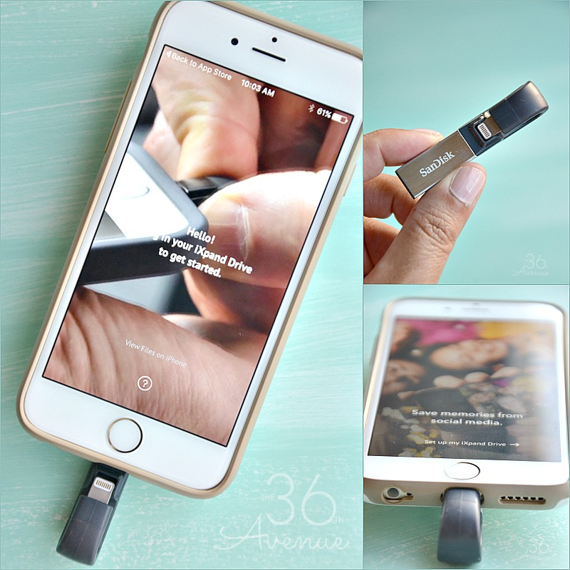 This small piece of awesomeness among many other things frees up space on your iPhone, automatically backs up your camera roll, and even lets you watch popular-format videos straight from the drive.