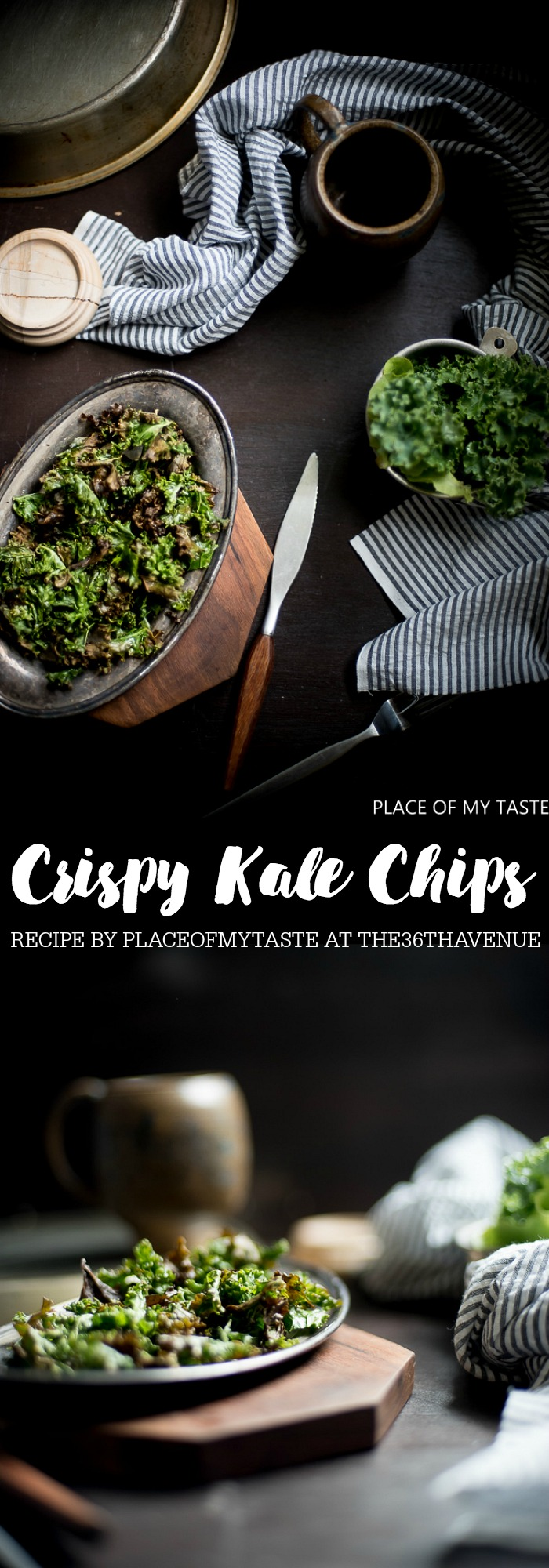 Kale is a fantastic source of many vitamins. These Crispy Kale Chips is one of the easiest snacks to make! Also makes the perfect appetizer. So delicious!