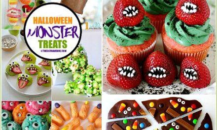 Halloween Recipes – Monster Treats