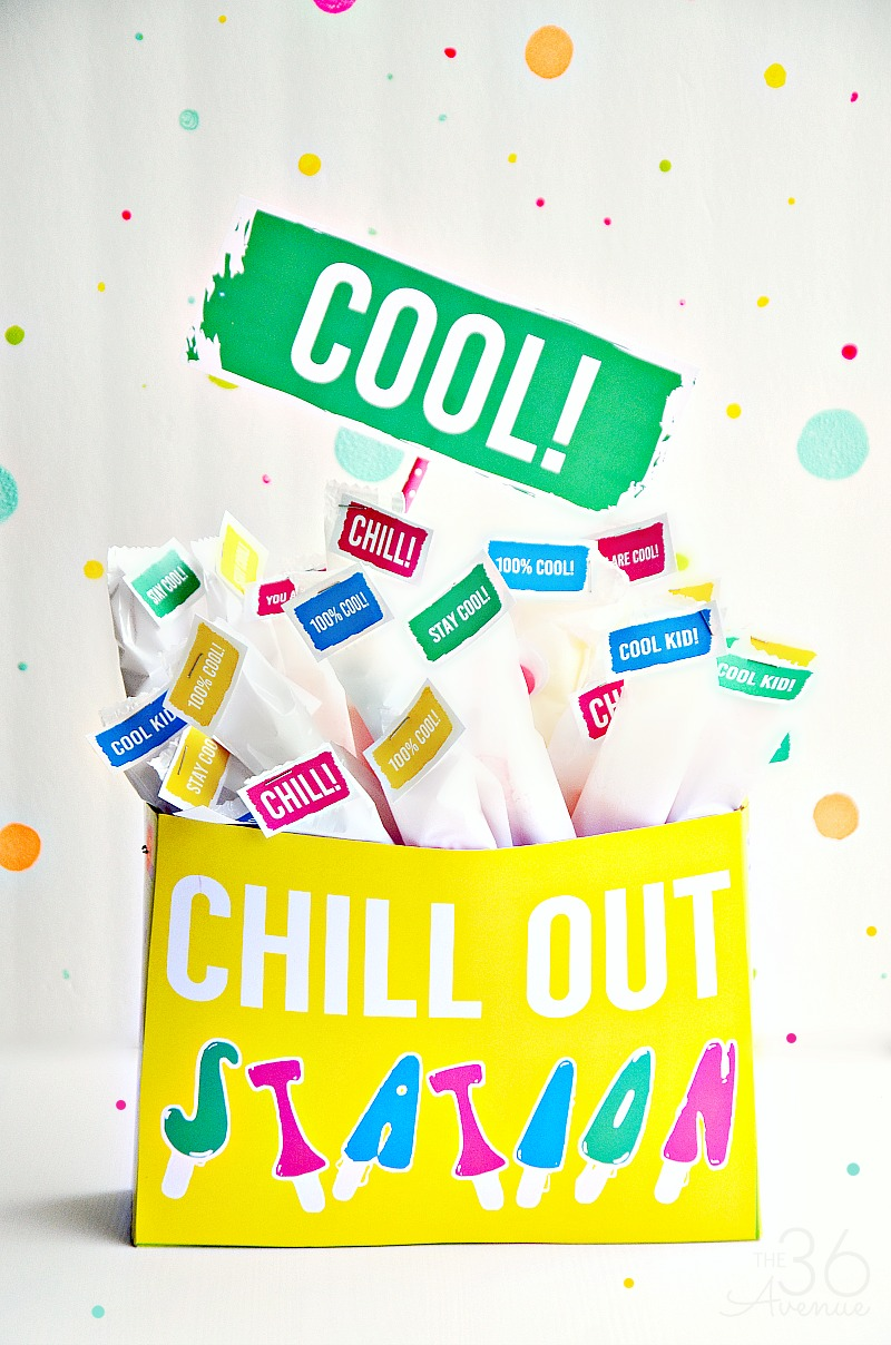 graphic about Cool Printables identify Popsicle Station and Printables - The 36th Road