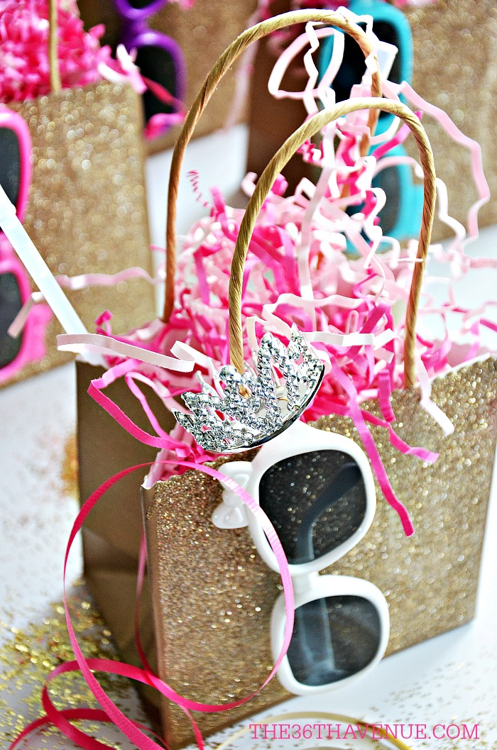 Glitter Party Ideas - These cute ideas are perfect for birthday parties!