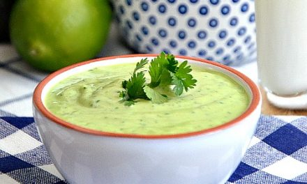 Avocado Cilantro Dressing Recipe