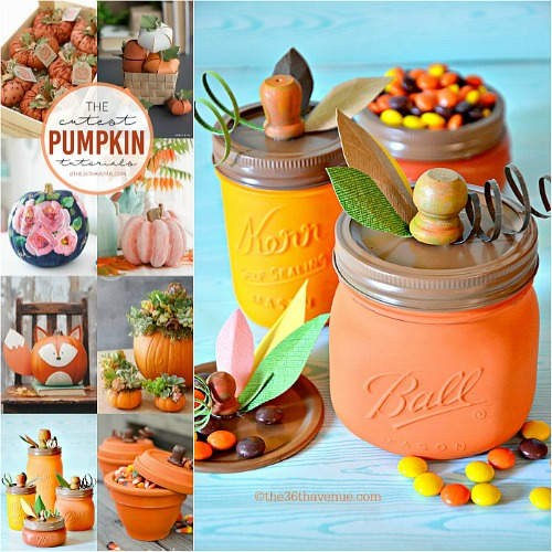 Fall Decor – DIY Pumpkin Tutorials
