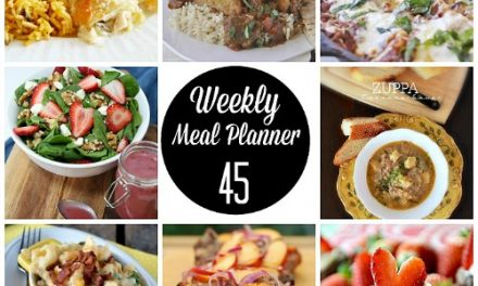 Weekly Meal Plan – Week 45