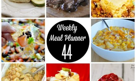 Weekly Meal Plan – Week 44