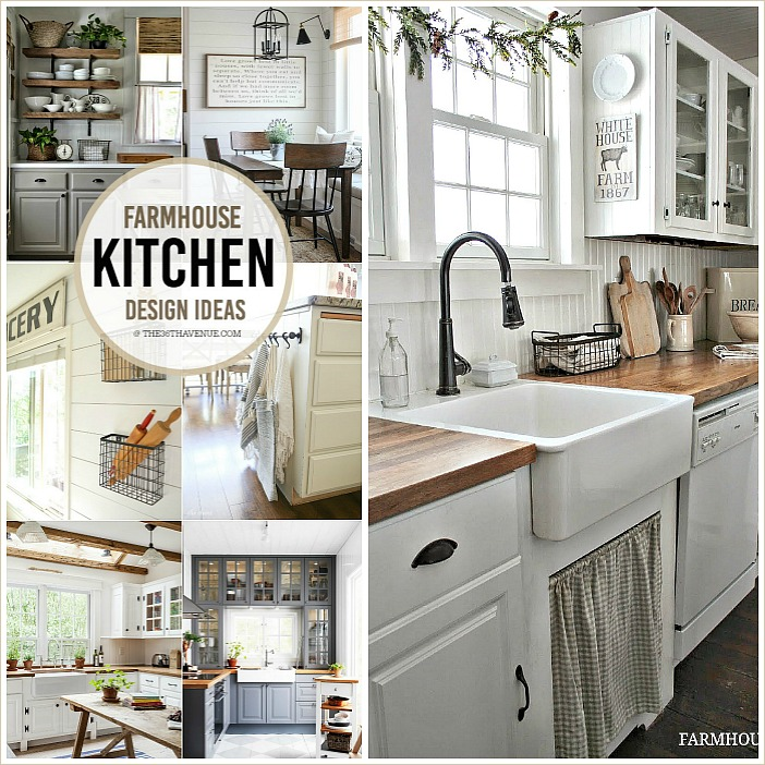 Farmhouse Kitchen Decor Ideas - The 36th AVENUE