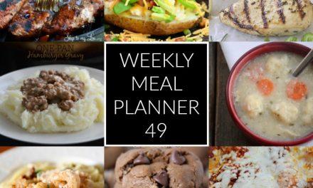 Weekly Meal Planner – Week 49